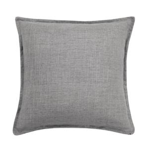 Millano Collection Gray Linen Decorative Cushion
