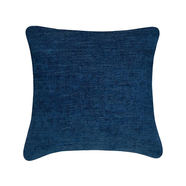 Millano Collection 18-in Dark Blue Decorative Cushion