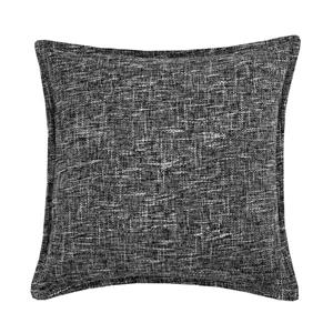 Millano 18-in Gray Burlap Decorative Cushion