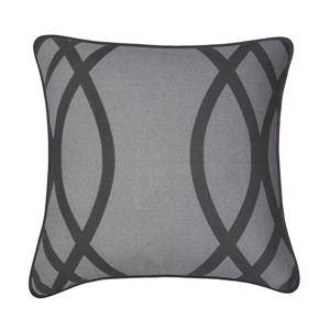 Millano 18-in Gray Wilcox Decorative Cushion
