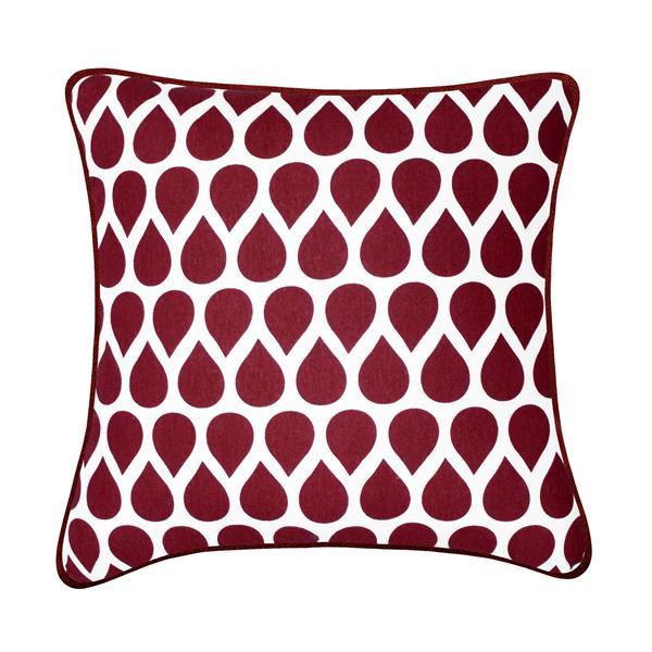 Coussin décoratif Taylor, rouge