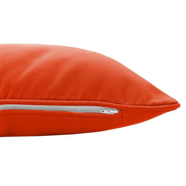Coussin extérieur Millano, orange