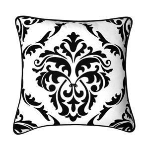 Coussin décoratif Mesa, blanc