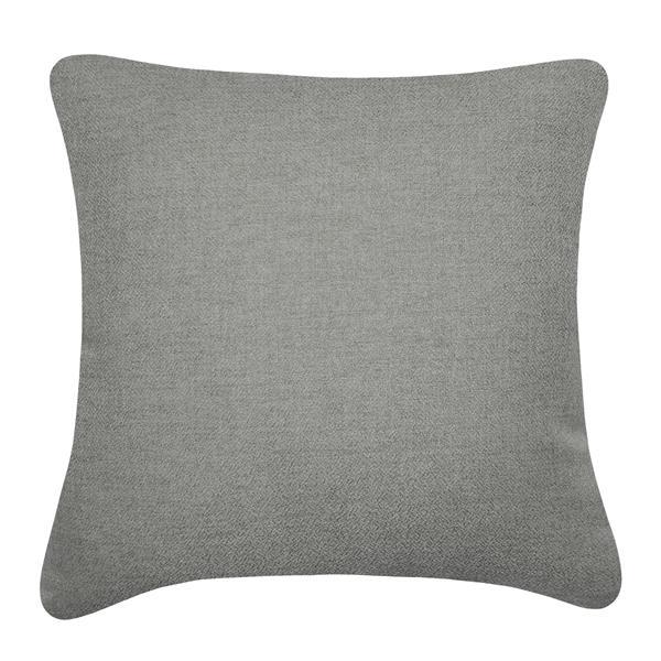 Millano 18-in Gray Dandelion Decorative Cushion