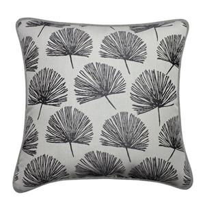 Millano 18-in Gray Dandelion Decorative Cushion