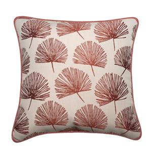 Millano 18-in Copper Dandelion Decorative Cushion
