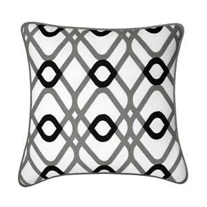 Coussin décoratif Aria, gris