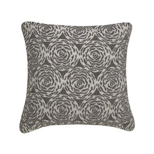 Millano 18-in Gray Channel Decorative Cushion
