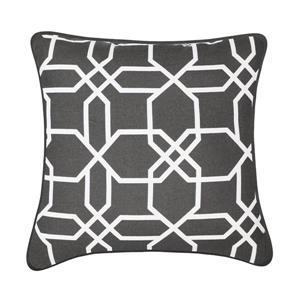 Coussin décoratif Chandler, gris