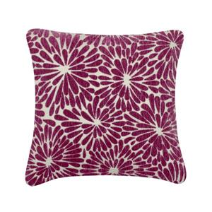 Millano 18-in Pink Blossom Decorative Cushion