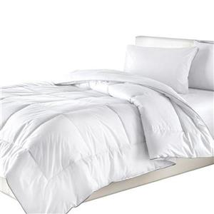Millano Collection White Cotton Twin Duvet