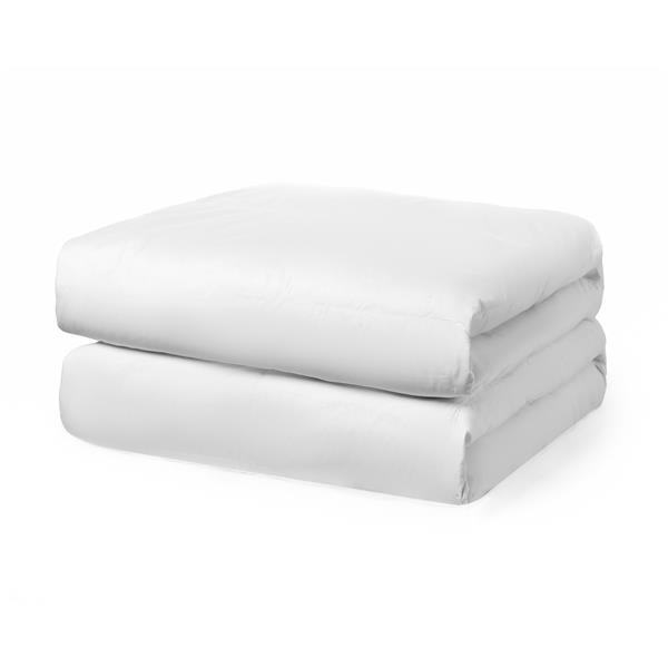 Couette Milano, très grand lit, coton, blanc