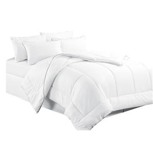 Millano Collection White Polyester Queen Duvet