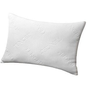 Millano Pillows 20-in x 30-in Damask Fibre (Set of 2)