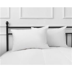 Millano Collection Coolmax Cotton 20-in x 30-in Cotton Pillows (Set of 2)