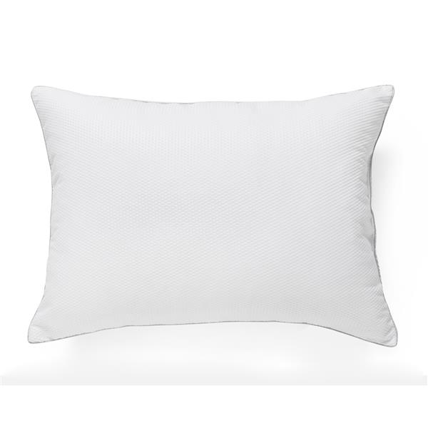 Millano Collection 3D 20-in x 27.5-in Polyester Bed Pillows (Set of 2)