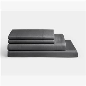 Millano 1200 Thread-Count Polyester Grey Spa King Sheet Set (4 Pieces)