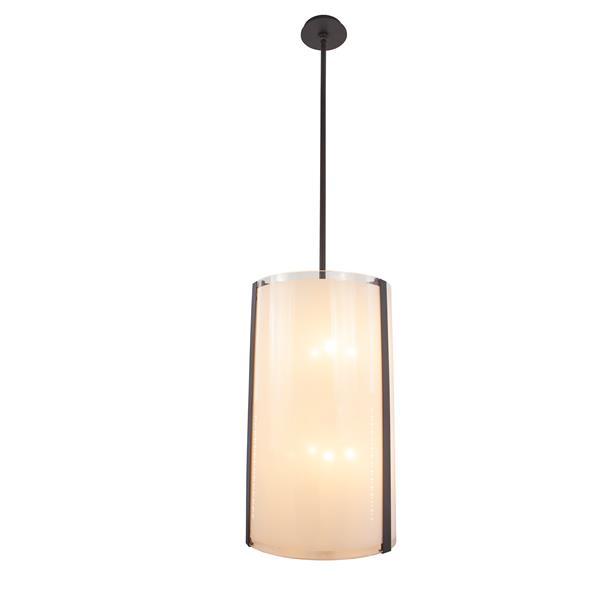 Levico Lighting Capri 15-in Bronze 8 Light Pendant