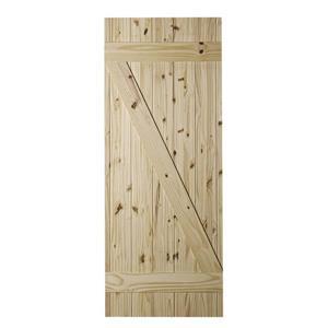 Cellar Barn Door - Natural Pine - 37''