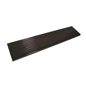 Pylex 9.75-in x 60.00-In Black Aluminium Stair