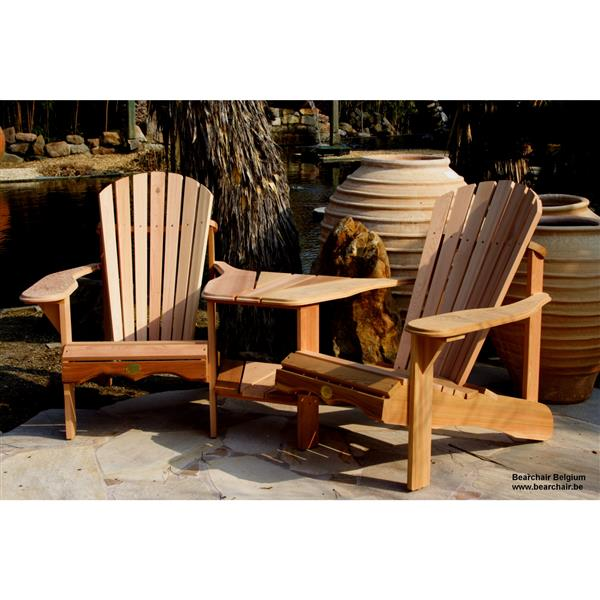 The Bear Chair Company Outdoor Chairs 40-in Set of 2 Red Cedar