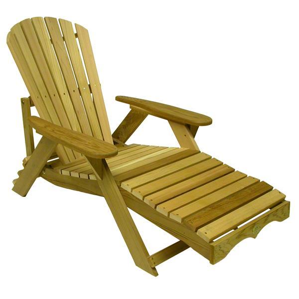 The Bear Chair Company Lounge Chair Red Cedar