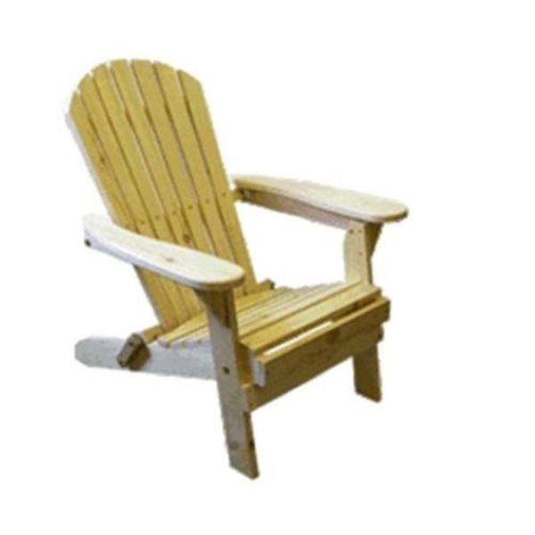 The Bear Chair Company Folding Muskoka Chair Red Cedar