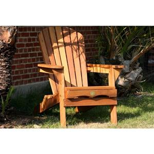The Bear Chair Company Folding Muskoka Chair Red Cedar