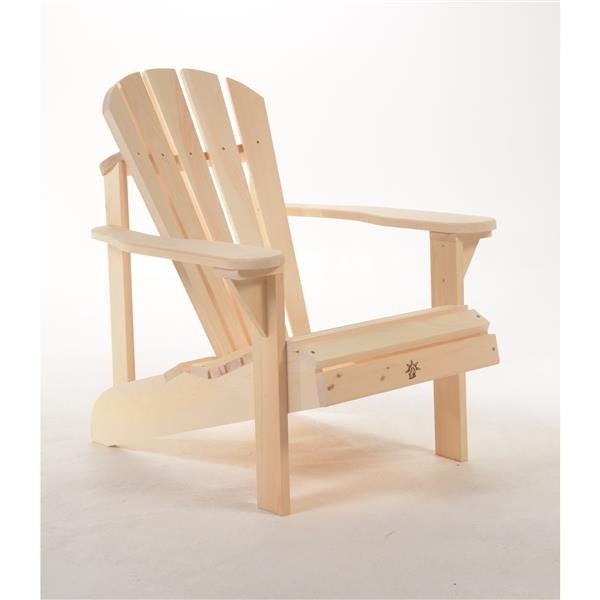 The Bear Chair Company Muskoka Outdoor Chair White Pine