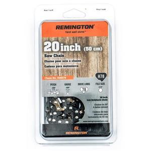 """Chaîne de scie à chaîne Remington, 78 maillons, 20"""""""