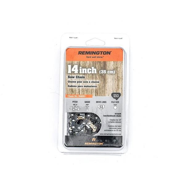 Remington 14-In 53 Drive Links Chainsaw Chain