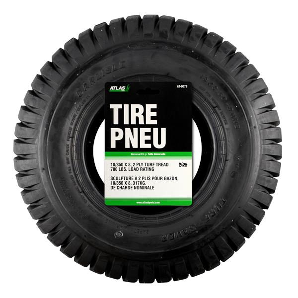 Atlas 16-in x 8.5-in Replacement Lawn Tractor Tire