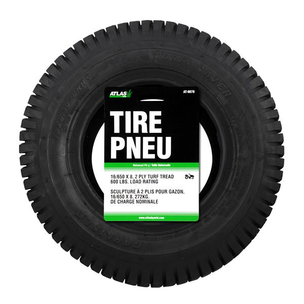 Atlas 16 In X 6 5 In Replacement Lawn Tractor Tire At 0078 Rona
