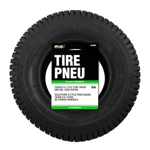 Atlas 16-in x 6.5-in Replacement Lawn Tractor Tire