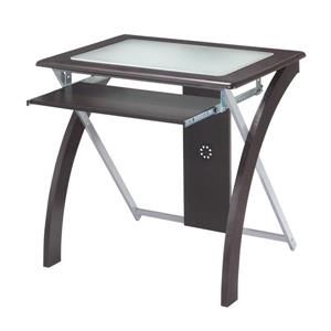 Office Star OSP Designs Brown Computer Desk