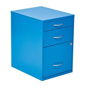 OSP Designs 22-in Blue File Cabinet