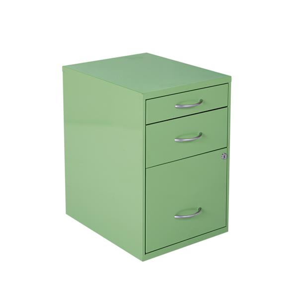 Osp Designs 22 In Green File Cabinet, Stylish File Cabinet