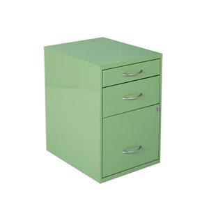 OSP Designs 22-in Green File Cabinet