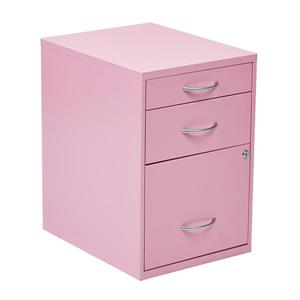 OSP Designs 22-in Pink File Cabinet