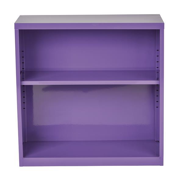 """Bibliothèque en métal, 28"""", violet"""