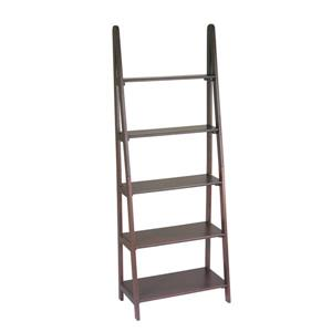 Ladder Bookcase - Brown