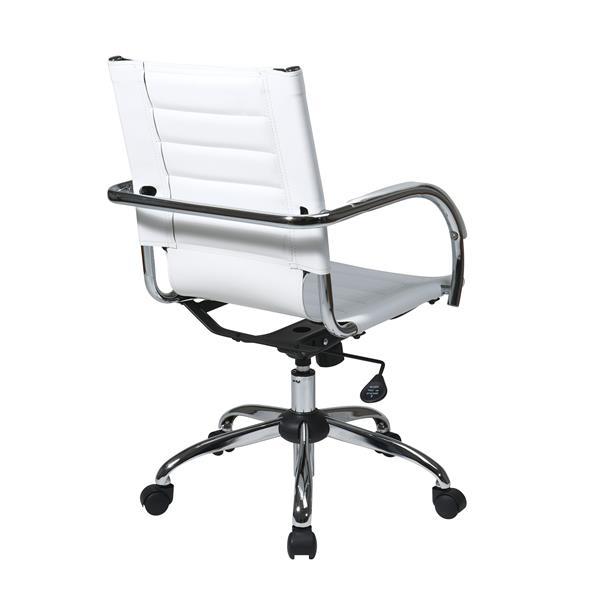 Trinidad White Office Chair