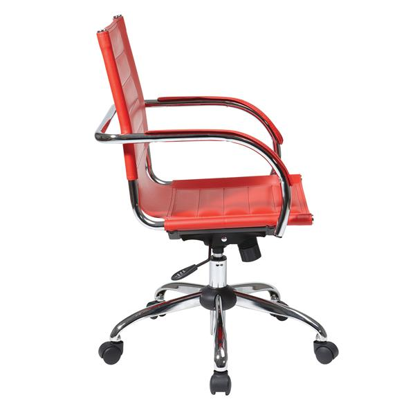 Chaise Trinidad, rouge