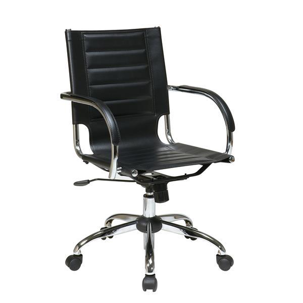 Office Star Black Trinidad Office Chair