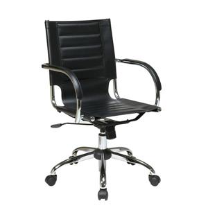 Office Star Black Trinidad Office Chair