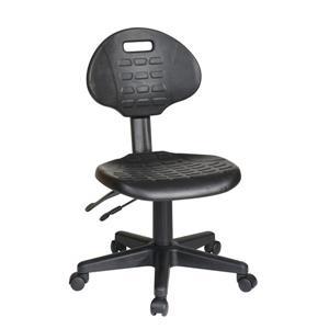 Work Smart™ 21.00-In x 18.50-In Black Ergonomic Chair