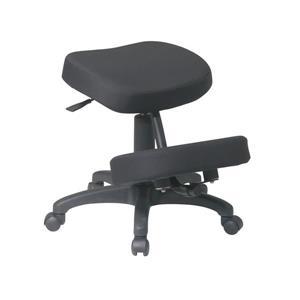 Chaise à appui-genoux ergonomique avec mousse mémoire