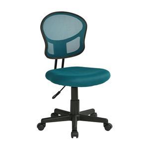Chaise de bureau avec hauteur réglable, bleu