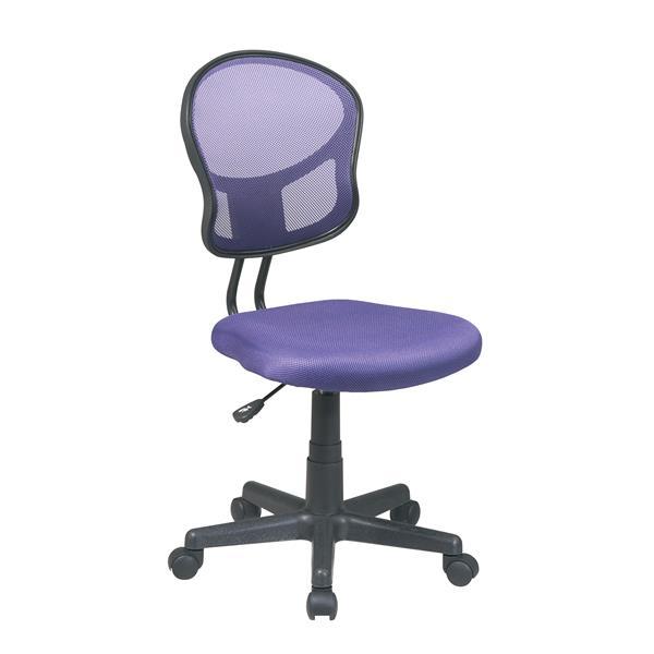 Chaise de bureau, mauve