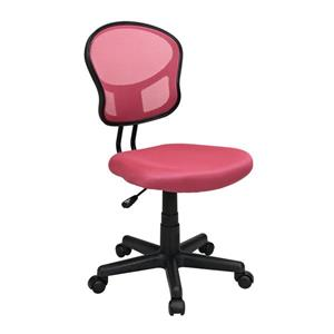 Pink Mesh Office Chair